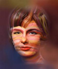 Pickin' on Joanne Woodward. Sam Falls   P.S.1 Studio Visit