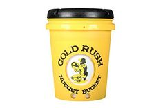 cool Gold Rush Nugget Bucket - Deluxe Gold Panning Kit With Folding Shovel (Yellow)
