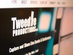 Tweedle Productions, Web Design/Social Media