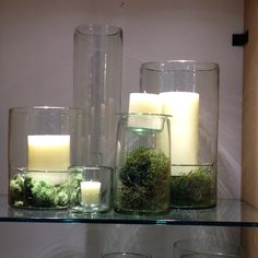 Table decor with nature feel
