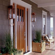 Love this front entrance.