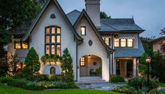 English Cottage home - 1924 Tudor For Sale In Dallas Texas. Style Cottage, Tudor Cottage, Cottage Homes, English Cottage Exterior, Tudor House Exterior, English Tudor Homes, English Cottage Style, Cottage House Plans, French Country House