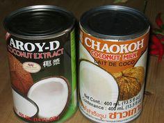 Kokonatsu miruku ココナッツミルク [Leite de côco; coconut milk] | por ჱܓ Raquel ჱܓ