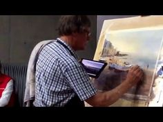 David Taylor watercolour painting in China part 3 - YouTube