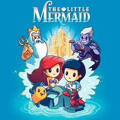 Disney The Little Mermaid T-Shirt Disney TeeTurtle