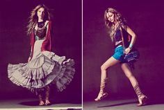 Free People Spring 2011 -- Love the skirt(don't think I could pull it off), and those shorts!