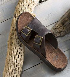 Black Leather Shoes, Leather Sandals, Leather Men, Men Sandals, Mens Flip Flops, Mens Slippers, Brown Sandals, Buy Shoes, Slide Sandals