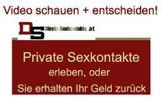 Private Sexkontakte  AT ohne finanzielle Interessen hier garantiert