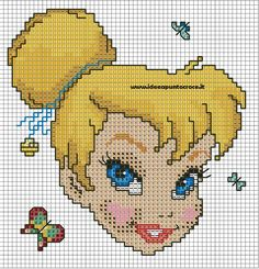Tinker Bell pattern by syra1974 on deviantART