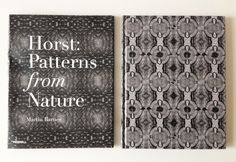 Horst's Patterns from Nature Creative Review, The V&a, Book Photography, Textures Patterns, Cool Designs, Layout, Graphic Design, Book Covers, Nature