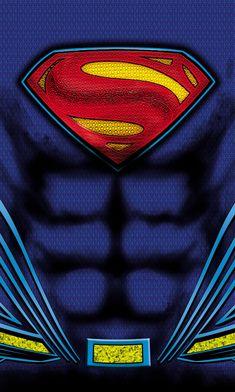 Ilustración DC Comic / Marvel / Transformers on Behance Marvel Vs Dc Comics, Steel Dc Comics, Dc Comics Superheroes, Dc Comics Art, Marvel Art, Logo Superman, First Superman, Superman Man Of Steel, Batman Vs Superman
