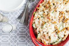 Recipe:+Roasted+Red+Pepper+Chicken+Alfredo+Bake