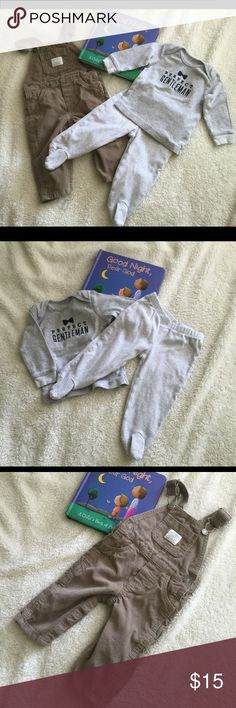 Bundle of Carter's Slightly used and in excellent condition. Items: 1 jumper & Pj set top and bottom, all Carter's brand. PJs set is 100% cotton. Carter's Other