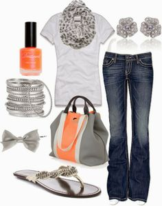 Get Inspired by Fashion: Casual Outfits | Little Bit Orange
