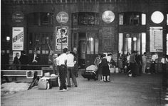 Estación de Atocha, 1964 Fondo Fotográfico Santos Yubero. Archivo Regional de la Comunidad de Madrid