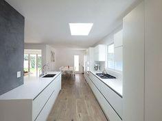 witte keuken interieur