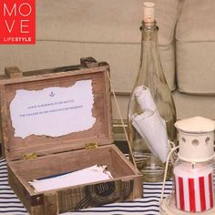 Ahoy It's a Boy Baby Shower | Message in a Bottle | Move LifeStyle