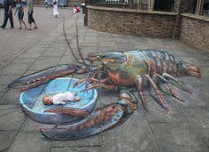 3D Sidewalk Art That Will Blow Your Mind (PHOTOS)