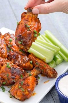 SLOW COOKER BUFFALO WINGS   Best foods and recipes in the world