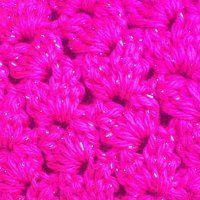 Double Crochet Cluster V-Stitch