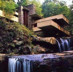 Maison sur la cascade (USA) Franck Loyd Wright