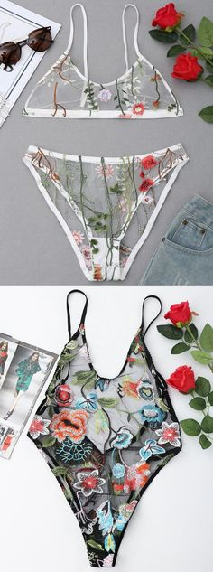 Up to 80% OFF! Floral Embroidered Mesh Slip Teddy! #zaful #lingerie #intimates #underwear #underclothes #underclothing #undies #bra #victoriasecret #lingerieseductive #lingeriesetl #ingeries #lingerieclassy #intimatesapparel #intimatesphotography #bralett