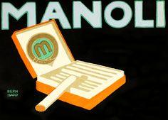 Lucian Bernhard, Manoli cigarettes