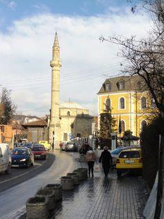 Fatih Mosque in Pristina, Kosovo