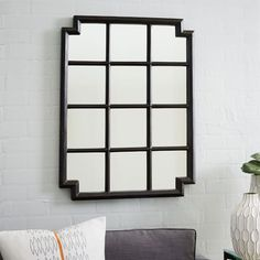 Notched Wall Mirror | West Elm