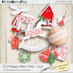 CU Happy New Year Vol.8 (Jasmin-Olya Designs)