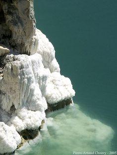 Dead Sea Salt Concretion (detail), Jordan