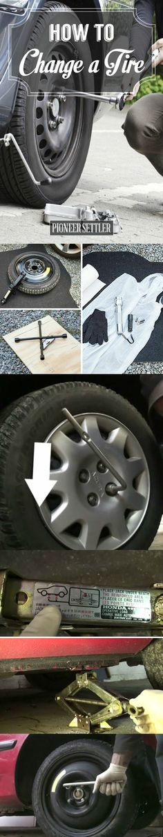 How to Change a Tire Safely - Homestead Tips by Pioneer Settler at http://pioneersettler.com/change-tire-safely-homestead-tips/