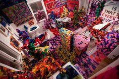 Yarn bomb addiction