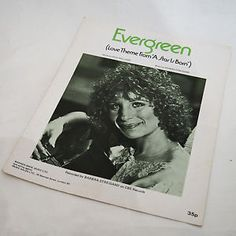 """Evergreen"" from A STAR IS BORN 1976 Barbra Streisand  (2nd remake)"