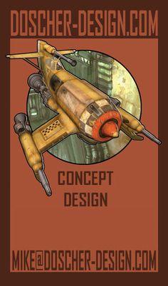 Business Card by MikeDoscher.deviantart.com on @deviantART