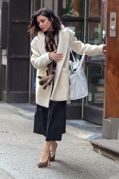 Vanessa Hudgens is seen in New York City on March 17, 2015.   - Cosmopolitan.com