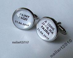ślub ślubne spinki dla Niego zamówienie  gratis nailart2010