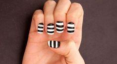 5 modelos de decorciones de uñas fáciles de hacer | Decoración de Uñas - Manicura y NailArt