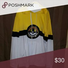 XL Pokemon long sleeve hooded pullover Nwot. Super cool! Pokemon Tops Sweatshirts & Hoodies