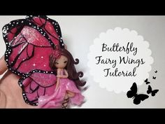 getlinkyoutube.com-TUTORIAL: Polymer Clay Butterfly Fairy Wings- NO PAINT!