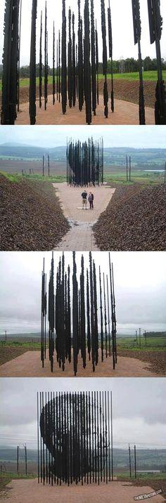 Nelson Mandela sculpture- Creazione dell'artista Sudafricano Marco Cianfanelli in occasione del 50esimo anniversario dalla cattura di Nelson Mandela Sito web: marcocianfanelli.com