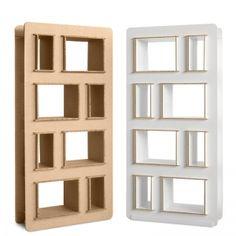 Libreria in cartone mod. Quercia - Corvasce Design