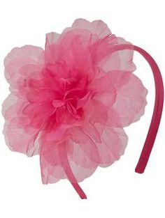 This tulle-flower #headband is perfect for #summer