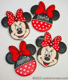 Minnie Mouse in Red | Cookievonster | Flickr