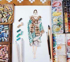 873 個讚,10 則留言 - Instagram 上的 SONIA 邵邵(@sonia_shao):「 #softpastel @dolcegabbana #soniashao #fashionillustrations #illustration #watercolor #fashionart… 」