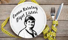 Canan Karatay Diyeti   - Sosyal Bilgi Platformu Decorative Plates, Health Fitness, Creative, Aspirin, Barware, Pasta, Places, Masks, Fitness
