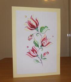 Tulipános képeslap (DobisMaria) - Meska.hu
