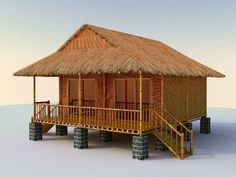 Casas pintorest - Home Decoration Tent Design, Cabin Design, Cottage Design, Bamboo House Design, Simple House Design, Hut House, Tiny House Cabin, Outdoor Restaurant Patio, Filipino House