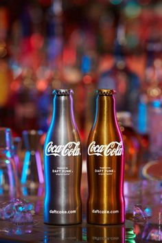 "Daft Punk x Coca-Cola ""Club Coke"" Limited Edition Bottles"