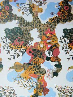 josef frank | Neville Trickett | Flickr Surface Pattern, Pattern Art, Pattern Design, Surface Design, Textile Patterns, Print Patterns, Textiles, Collages, Joseph Frank